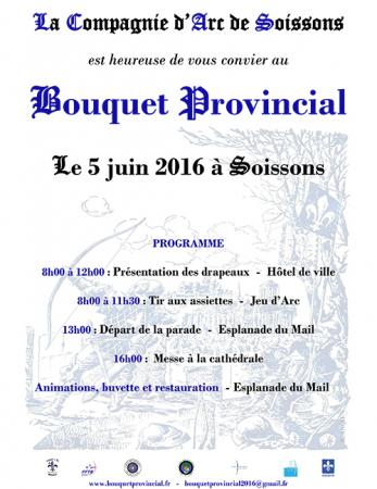 Bouquet Provincial 2016 - Soissons
